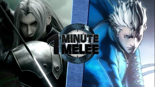 Sephiroth vs Vergil (Final Fantasy vs Devil May Cry) - One Minute Melee S5 EP12