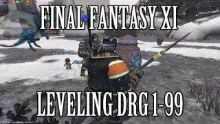 Final Fantasy XI: Leveling Dragoon 1-99