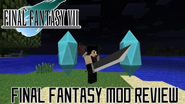AMAZING SWORDS, MATERIA, MAGIC & MORE! || Minecraft Final Fantasy 7 (Enchant Changer) Mod Review
