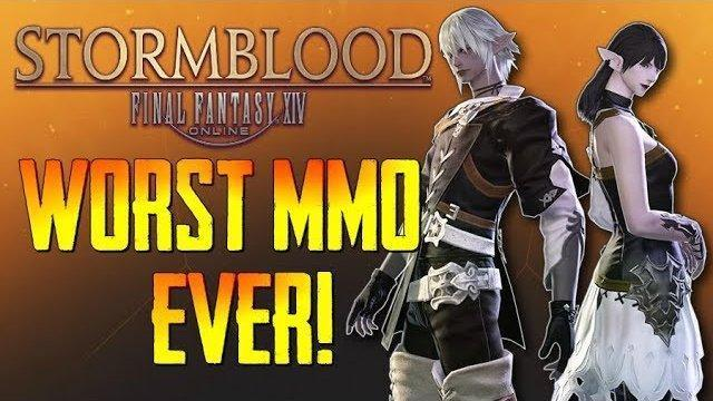 "Final Fantasy XIV: Stormblood - ""The Worst MMO Ever Made!""...Boring Over-Hyped Trash!!! - (Review)"