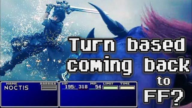 Old & outdated? Turn based combat and it's return to mainline Final Fantasy / FF16