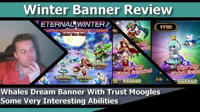 [FFBE] Final Fantasy Brave Exvius - Winter Banner Review