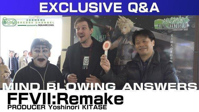 FINAL FANTASY VII Remake Producer Q&A