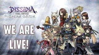 THE GAME IS OUT! - Dissidia Final Fantasy: Opera Omnia Livestream