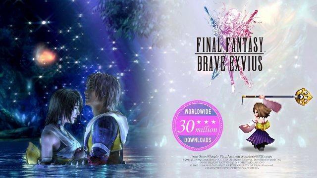 FINAL FANTASY BRAVE EXVIUS x FINAL FANTASY X: Yuna Arrives