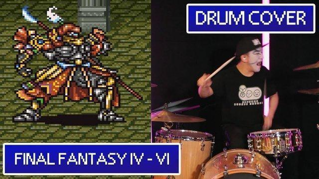 FINAL FANTASY IV~VI DRUM COVER by KABUKIN