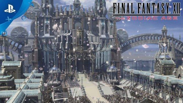 FINAL FANTASY XII THE ZODIAC AGE - Remastered Title Cinematic Trailer | PS4