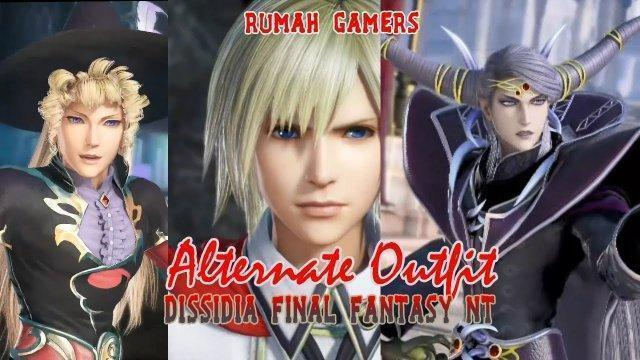 Dissidia Final Fantasy NT - alternate outfit all Character and Villains
