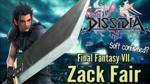 Zack Fair soft confirmed for Final Fantasy Dissidia NT? (Story, ranked, co-op & more)