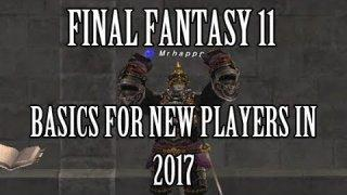 Final Fantasy 11 - Long List of Basics For New Players in 2017